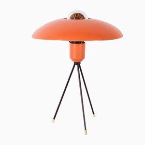 Lampada da tavolo tripode di Louis C. Kalff per Philips, anni '50