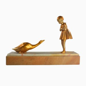 Art Deco Sculpture by Dh. Chiparus, 1920s