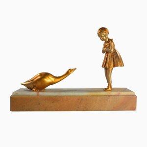 Escultura Art Déco de Dh. Chiparus, años 20