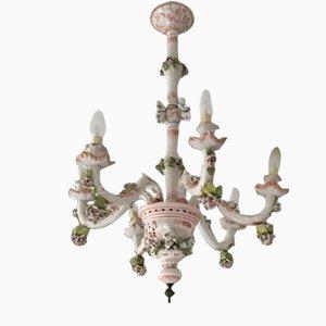 Lampada da soffitto vintage in ceramica