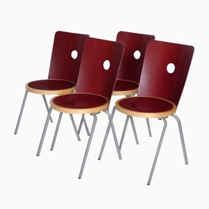 Dining Chairs by BORJE LINDAU for BLA STATION, 2003, Set of 4