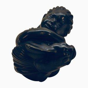 Bronze Decorative Statue by Just Andersen for Just Andersen, 1940s