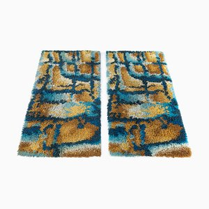 Finnish Rya Carpets, 1960s, Set of 2