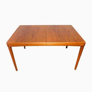 Tavolo da pranzo in teak e palissandro di H. W. Klein per Bramin, Danimarca, anni '60