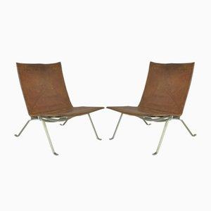 PK22 Sessel von Poul Kjærholm für E. Kold Christensen, 1950er, 2er Set