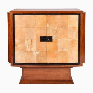 Art Deco Mahogany Cabinet, 1930s