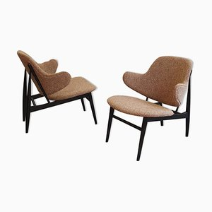 Armchairs by Kofod Larsen, 1950s, Set of 2