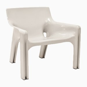Mid-Century Armchair by Vico Magistretti for Artemide