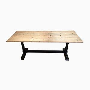 Tavolo da pranzo Mid-Century ebanizzato