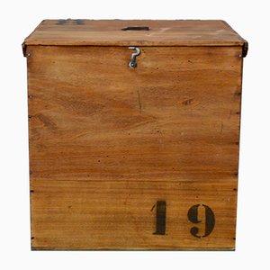 Baule in legno di Vacheron & Fils, anni '30