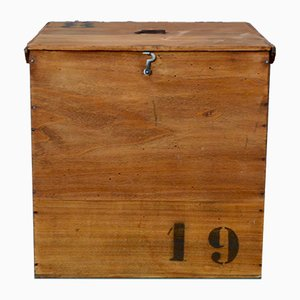 Wooden Trunk from Vacheron & Fils, 1930s