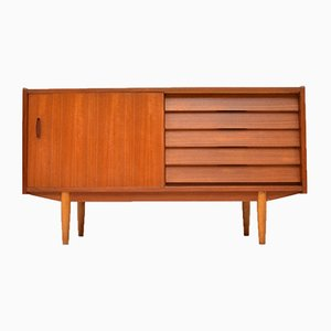Swedish Teak Sideboard by Nils Jonsson for Hugo Troeds, 1960s