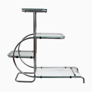 Jardinera tubular Bauhaus vintage, años 30