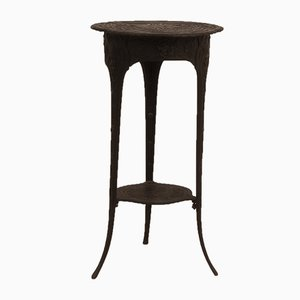 Antique Iron Side Table, 1900s