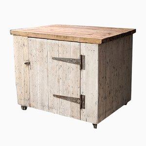 Mobiletto da cucina antico