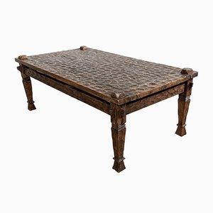 Tavolino da caffè antico gotico