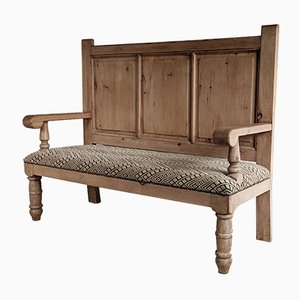 Antique Victorian Pine Bench