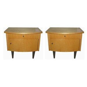 Vintage Dressers, 1950s, Set of 2