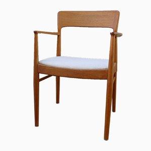 Armlehnstuhl aus Teak von Henning Kjærnulf für Korup Stolefabrik, 1960er