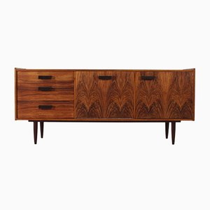 Scandinavian Walnut Buffet, 1960s