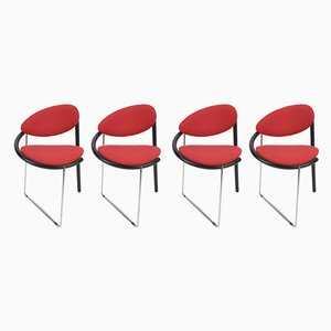 Vintage Esszimmerstühle von Pierre Mazairac & Karel Boonzaaijer für Castelijn, 1980er, 4er Set