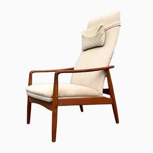 Dänischer Sessel mit Gestell aus Teak von Søren Ladefoged für SL Møbler, 1960er