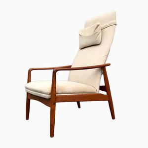Danish Teak Armchair by Søren Ladefoged for SL Møbler, 1960s