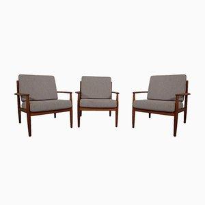 Danish Teak Lounge Chair by Grete Jalk for France & Søn / France & Daverkosen, 1960s