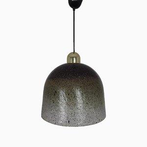 Deckenlampen aus Glas von Peill & Putzler, 1960er, 2er Set