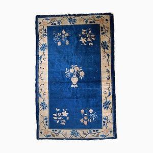 Antiker chinesischer Peking Teppich