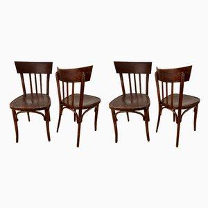 Vintage Esszimmerstühle, 4er Set
