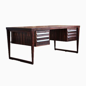 Model 70 Rosewood Desk by Kai Kristiansen, 1950s