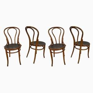 Vintage Esszimmerstühle von Jacob & Josef Kohn, 4er Set