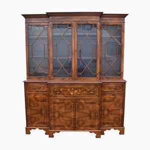 Burr Walnut Cabinet, 1950s