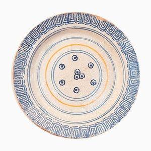 Assiette Antique en Céramique, Italie