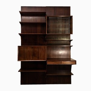 Modular Danish Rosewood Bookshelf System by Poul Cadovius for Cado, 1960s