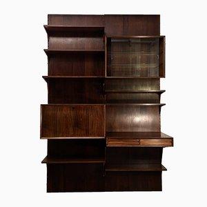 Modulares dänisches Bücherregalsystem aus Palisander von Poul Cadovius für Cado, 1960er