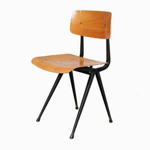 Dutch Result Side Chair by Friso Kramer for Ahrend De Cirkel, 1950s