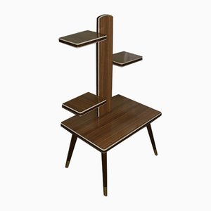 Mid-Century Formica Tiered Plant Stand