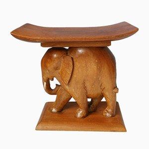 Ghanaian Elephant Stool, 1970s