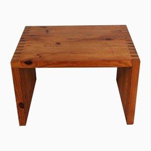 Dutch Pine Side Table by Ate van Apeldoorn for Houtwerk Hattem, 1960s