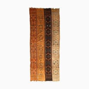 Tappeto Kilim fatto a mano, India, anni '50