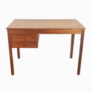 Danish Oak Desk from Domino Mobler, 1970s
