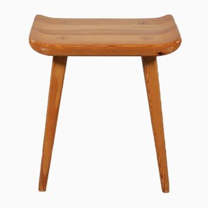 Pine Stool by Goran Malmvall for Karl Andersson & Söner, 1950s