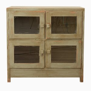 Mid-Century Plywood and Fir Cabinet, 1950s