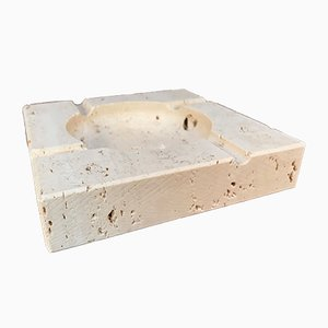 Brutalist Ashtray by Fratelli Mannelli for Travertino di Rapolano, 1970s