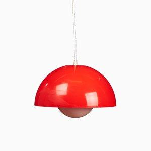 Lámpara colgante danesa Mid-Century, años 60