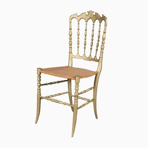 Italian Side Chair from Chiavari, 1970s