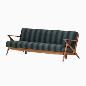 Sofá cama modelo Z de Selig para Poul Jensen, 1957