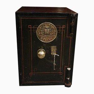 Antiker englischer Safe von E. Hipkins & Co.